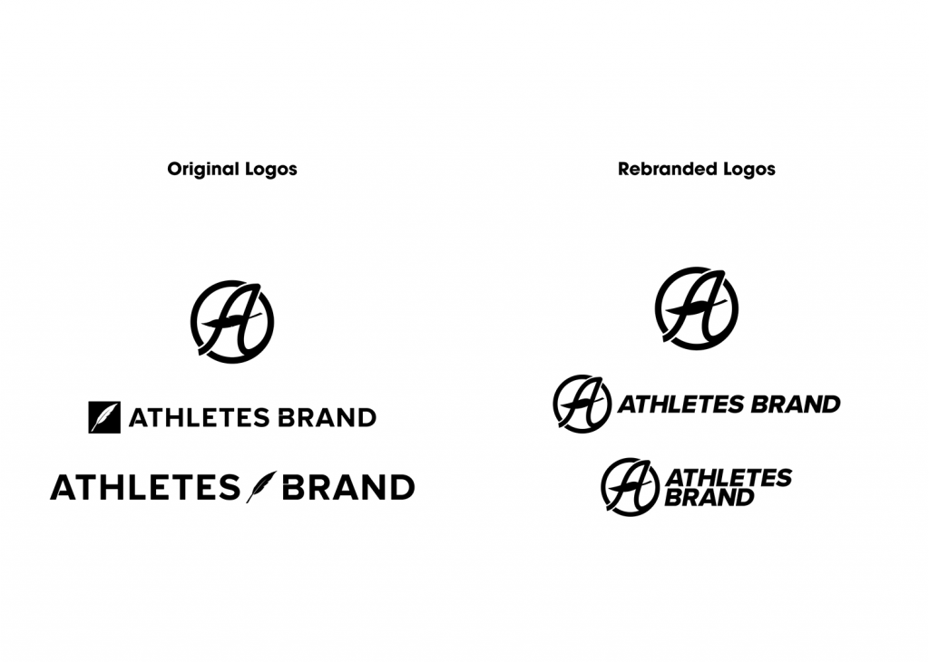 Athletes Brand logo rebrand